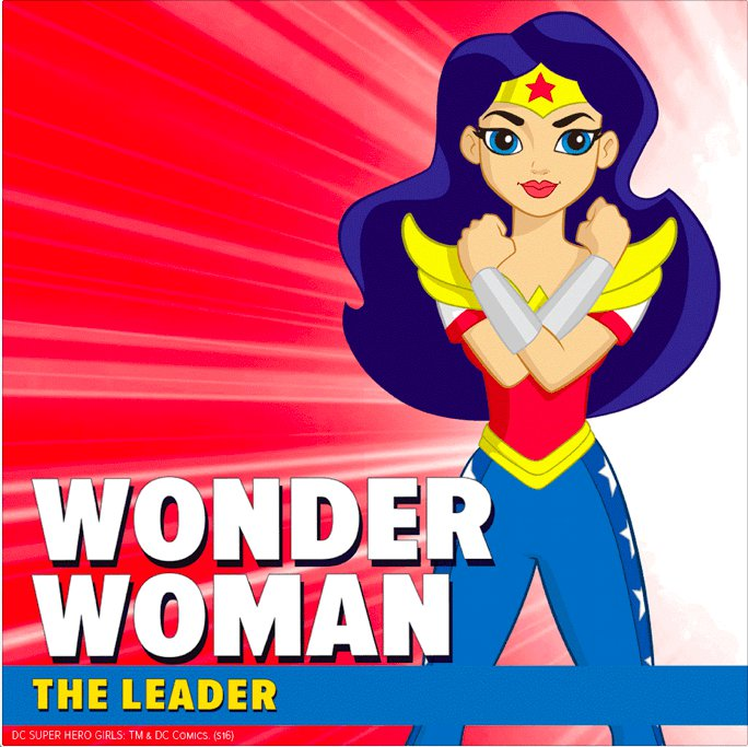 Diana Prince(Wonder Woman) (DC Super Hero Girls)
