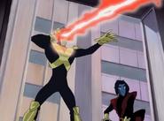 Cyclops and Nightcrawler intervene
