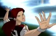 Jean using her powers at rally