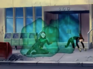 Shadowcat escapes capture by Sentinel
