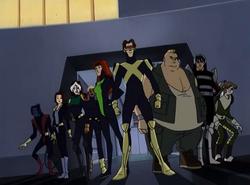 X-Men and Brotherhood team up against Juggernaut.png