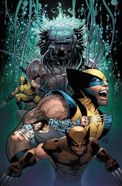 Death of Wolverine Vol 1 4 Land Variant Textless.jpg