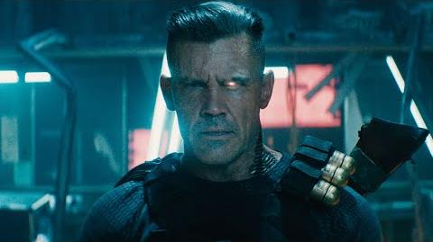Deadpool 2 Trailer 1 LATINO Conoce a Cable