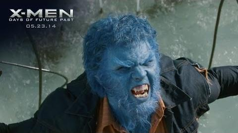 "X-Men Days of Future Past ""Beast"" Power Piece HD 20th Century FOX"