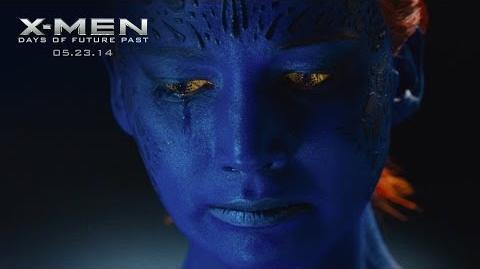 "X-Men Days of Future Past ""Mystique"" Power Piece HD 20th Century FOX"