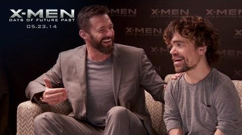 Tumblr Chat with Hugh Jackman & Peter Dinklage X-Men Days of Future Past