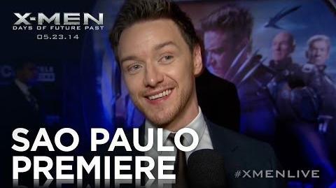 X-Men Days of Future Past Sao Paulo Premiere Highlights