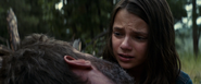 Laura mourns Logan's death
