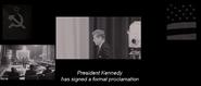 JFK's Proclamation (First Class - 1962)