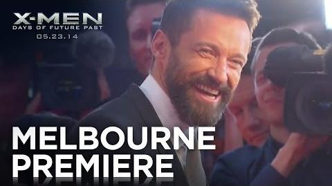 X-Men Days of Future Past Melbourne Premiere Highlights