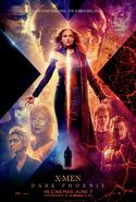 Dark Phoenix UK Poster