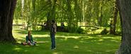 Jean & Scott (Xavier's School Grounds)