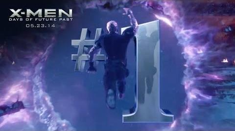 X-Men Days of Future Past 1 Movie TV Spot 20th Century FOX