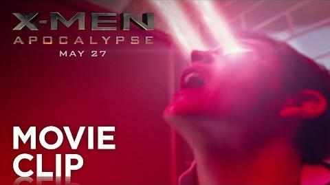 """X-Men Apocalypse """"Cyclops"""" Clip HD 20th Century FOX"""