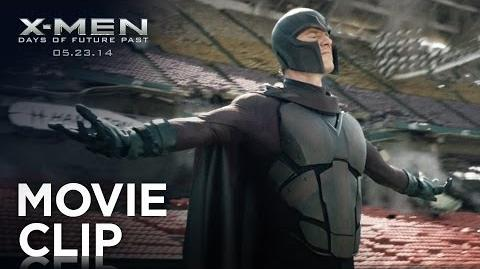 "X-Men Days of Future Past ""Stadium Levitation"" Clip HD 20th Century FOX"
