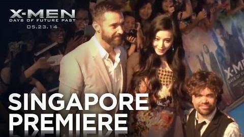 X-Men Days of Future Past Singapore Premiere Highlights