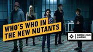 Who's Who in The New Mutants Comic Con @Home 2020