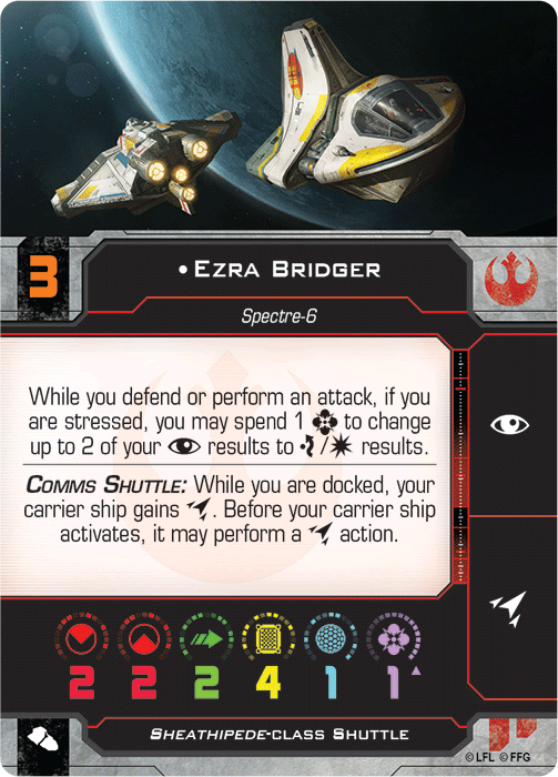 Ezra Bridger (Sheathipede)