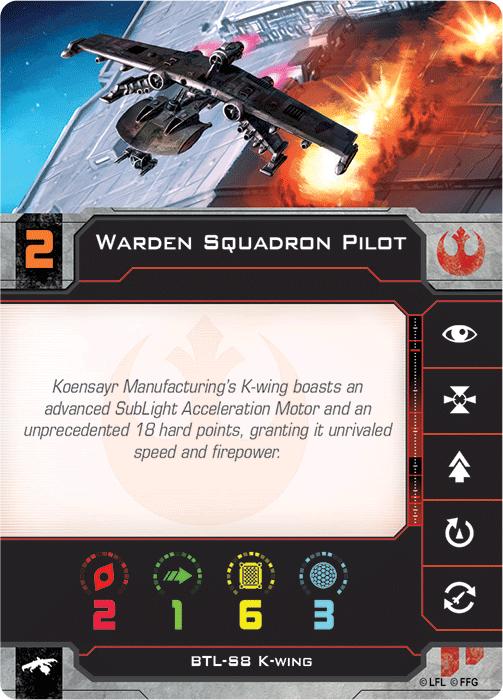 Warden Squadron Pilot
