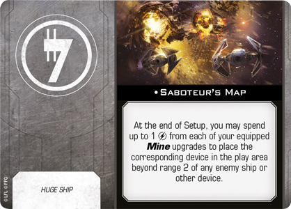 Saboteur's Map