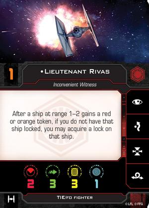 Lieutenant Rivas