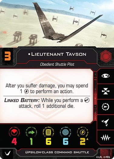 Lieutenant Tavson