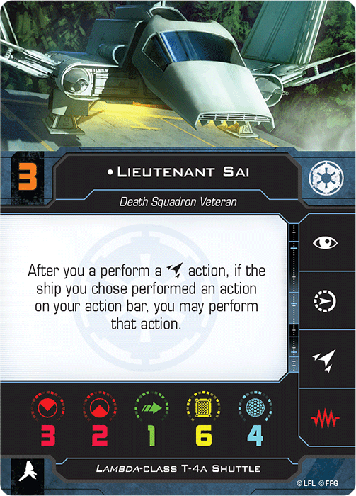 Lieutenant Sai