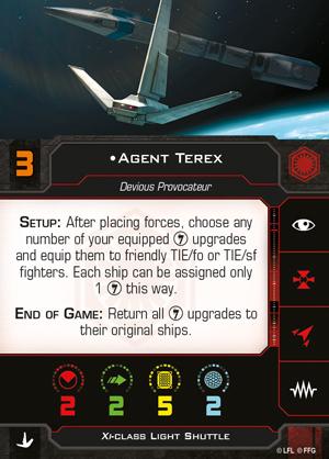 Agent Terex (Xi-class Light Shuttle)