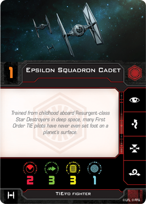 Epsilon Squadron Cadet