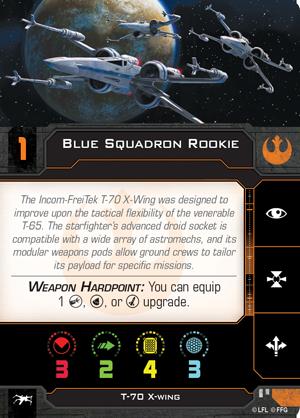 Blue Squadron Rookie