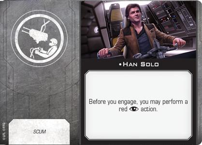 Han Solo (Gunner/Scum)