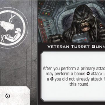 Star Wars X-Wing 2nd Edition Turret Upgrade Cards