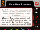 Echo Base Evacuees