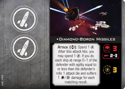 Diamond-Boron Missiles