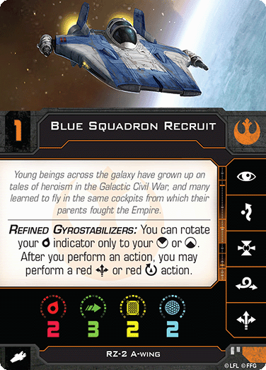 Blue Squadron Recruit