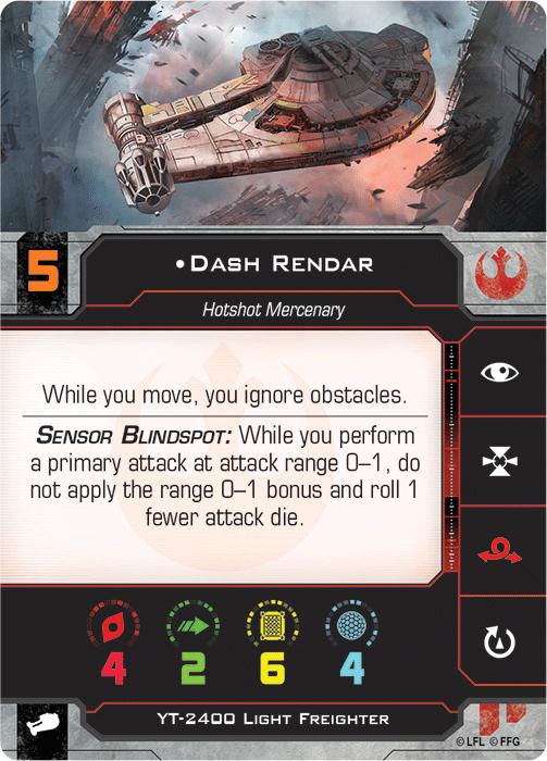 Dash Rendar