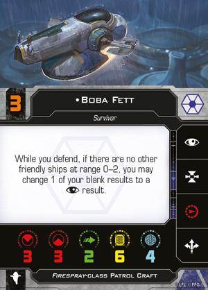 Boba Fett (Firespray/Separatist)