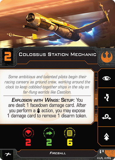 Colossus Station Mechanic