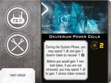 Deuterium Power Cells