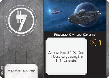 Rigged Cargo Chute