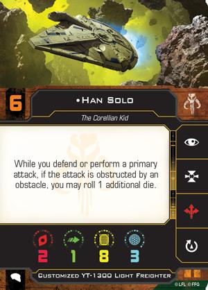 Han Solo (Custom YT-1300)