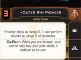 Outer Rim Pioneer