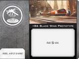 B6 Blade Wing Prototype (Standard)