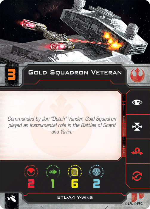 Gold Squadron Veteran