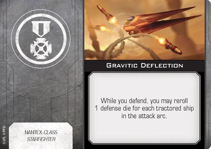 Gravitic Deflection