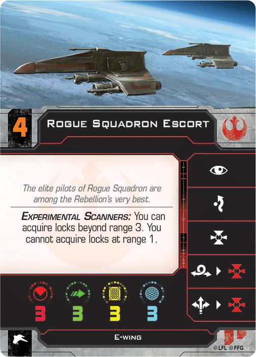 Rogue Squadron Escort