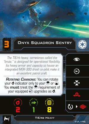 Onyx Squadron Sentry