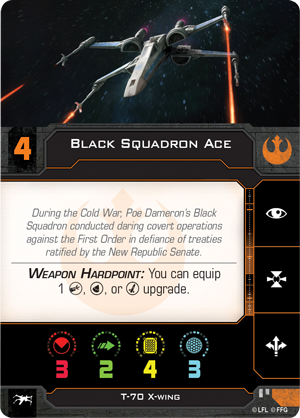 Black Squadron Ace (T-70 X-Wing)