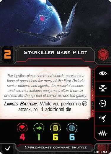 Starkiller Base Pilot