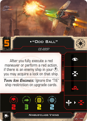 """""""Odd Ball"""" (V-Wing)"""